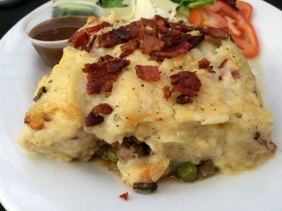 Chef Bob's Gluten Free Shepherd's Pie with Smoky Bacon real Mashed Potatoes